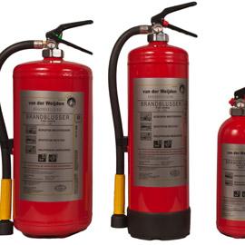 Brandblussers brandbeveiliging