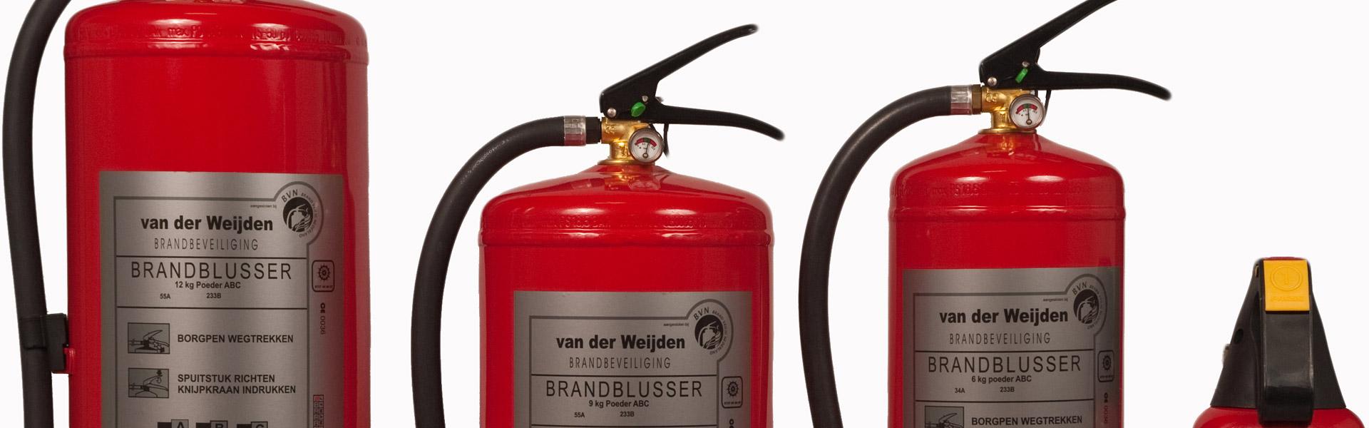 Brandbeveiliging Van der Weijden